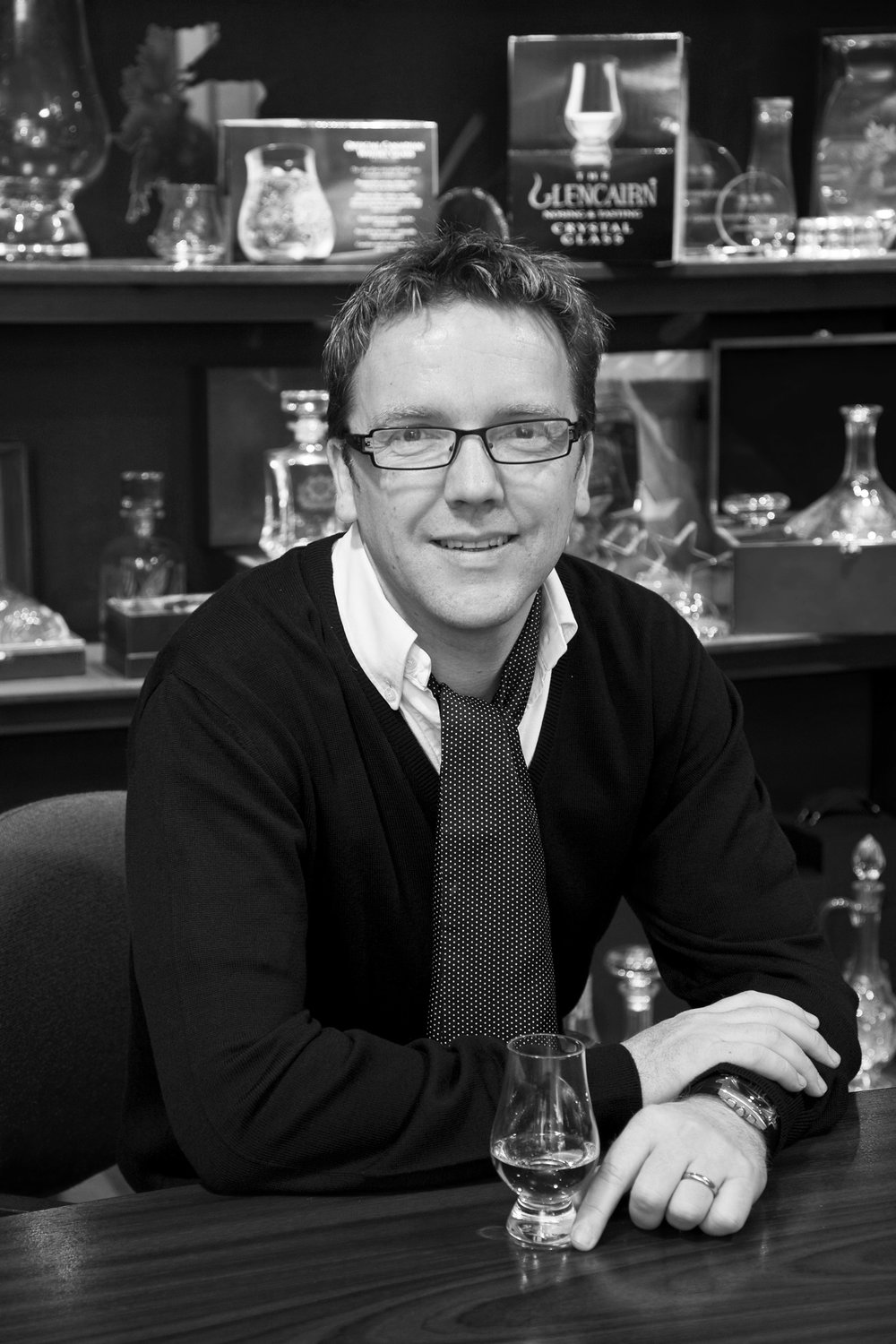 Paul Davidson - Managing Director of Glencairn Crystal