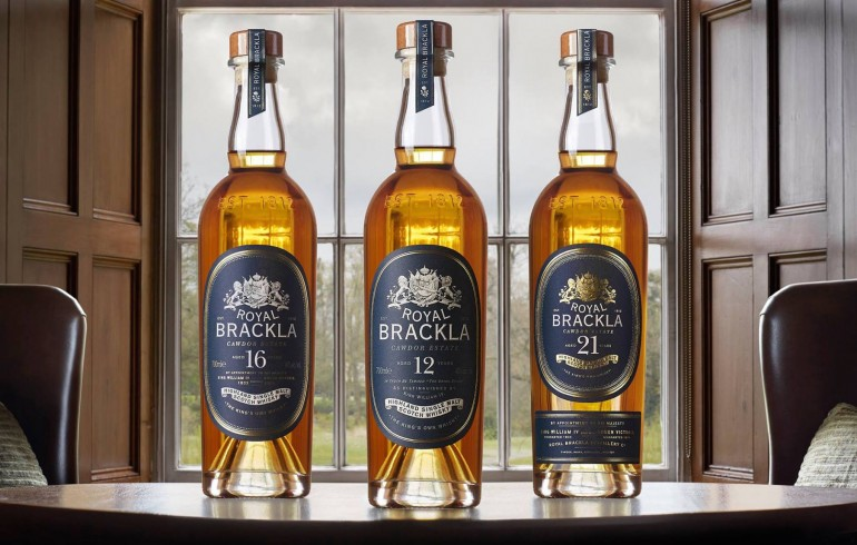 Royal Brackla Whisky, in a Glencairn-made bottle