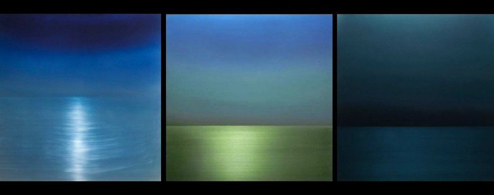 Three examples of Miya Ando's stunning work. / (c) L. Young