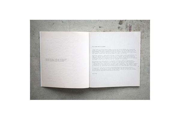 'Which way Home' artist book, 64p, offset, 2013. (critical essay)
