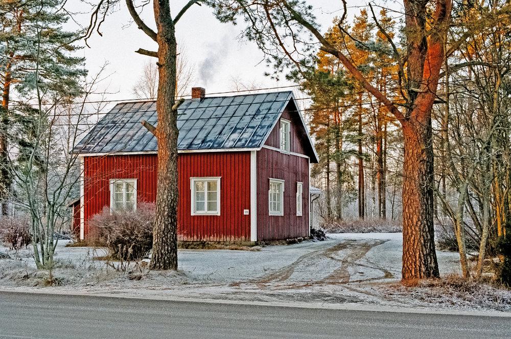 House, 35mm, Nelimarkka Museo, 2018