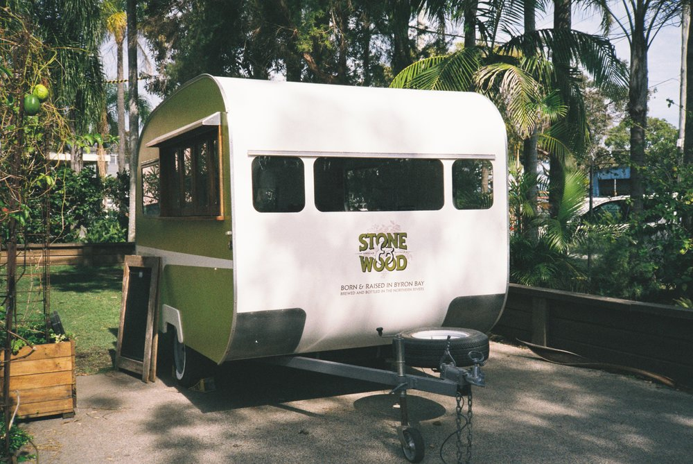 The Stone & Wood camper