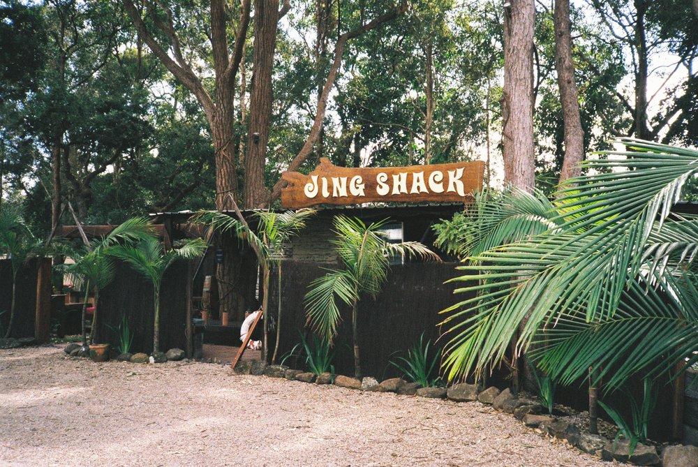 An empty shack