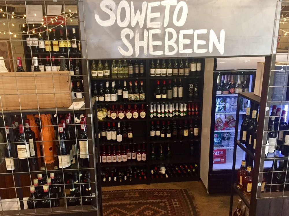Kalahari Cafe Perth soweto shebeen website design by Goya Studio