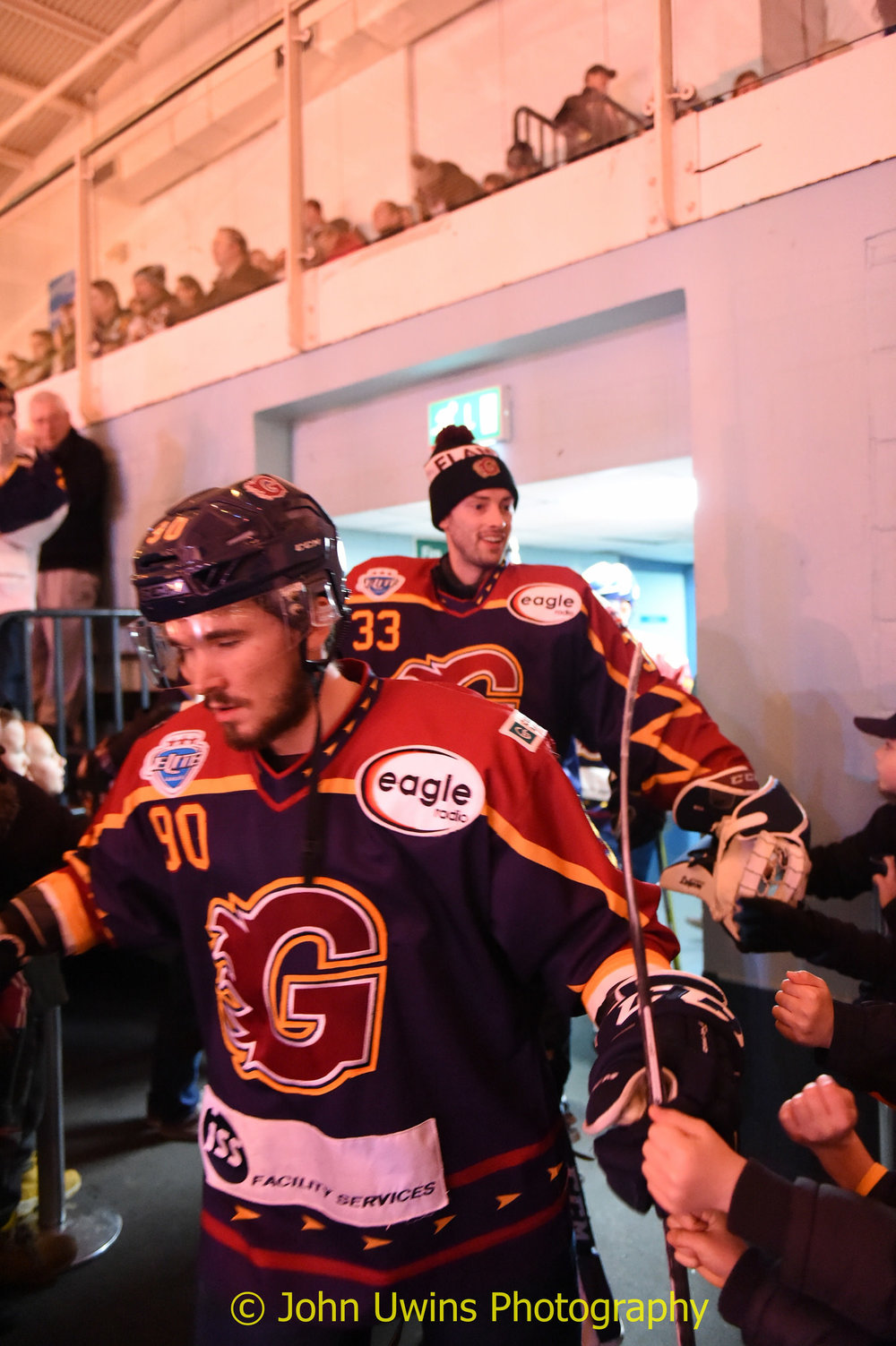 Flames double header