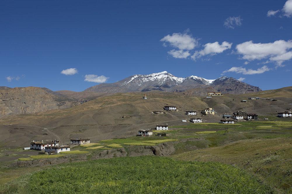 Village homestays in the Himalayan region.