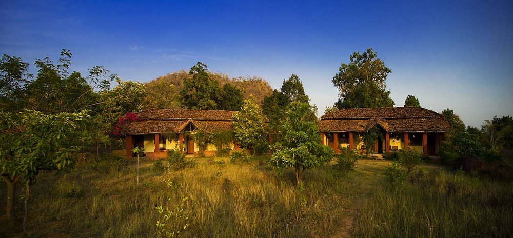 Rustic homestay in the tribal region of central India.