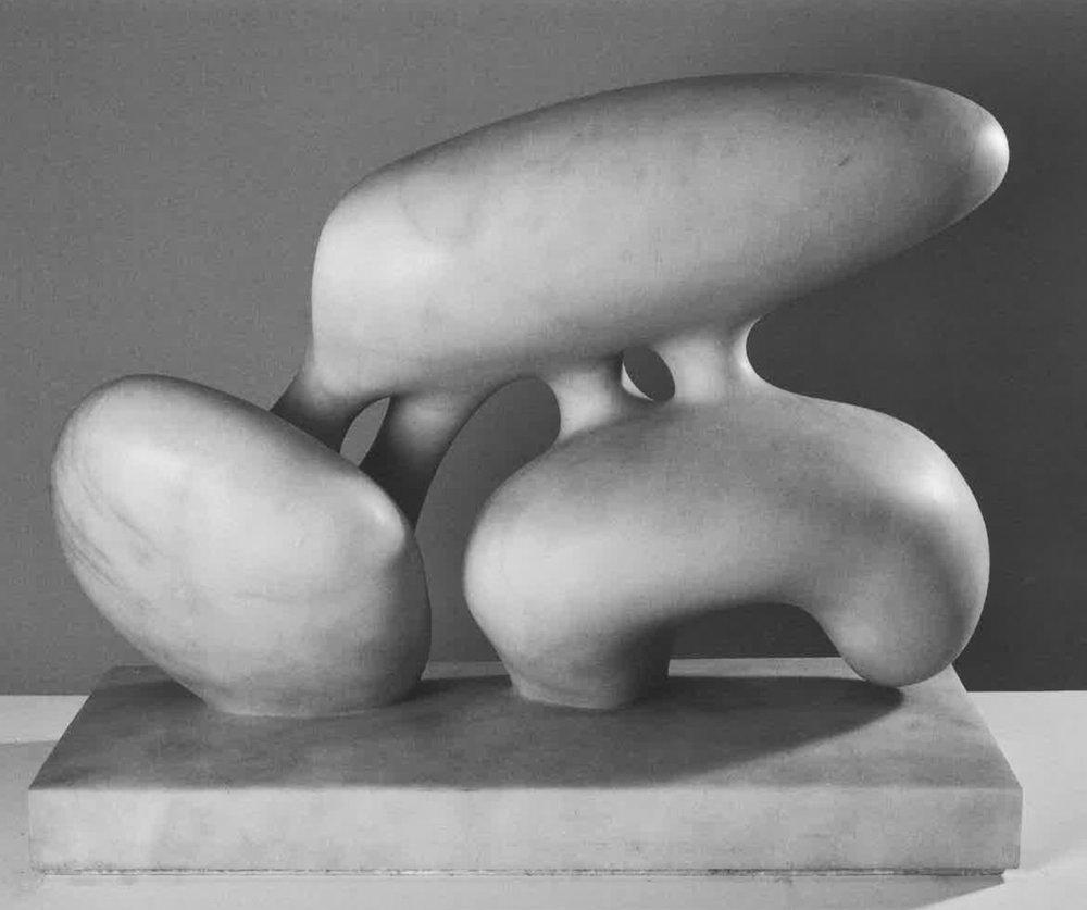 Le Fruit de la Memoire marbre blanc