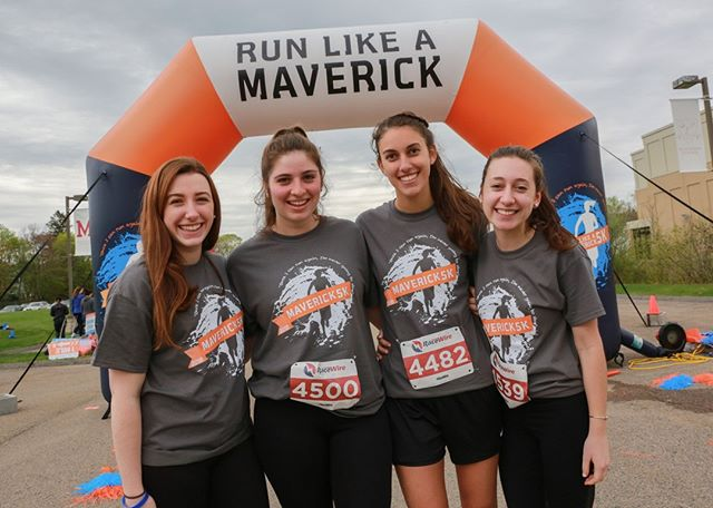 10 days left to get a race t-shirt with your registration (April 19th!)! Any guesses about what color this year's shirt will be? www.maverick5k.com/registration