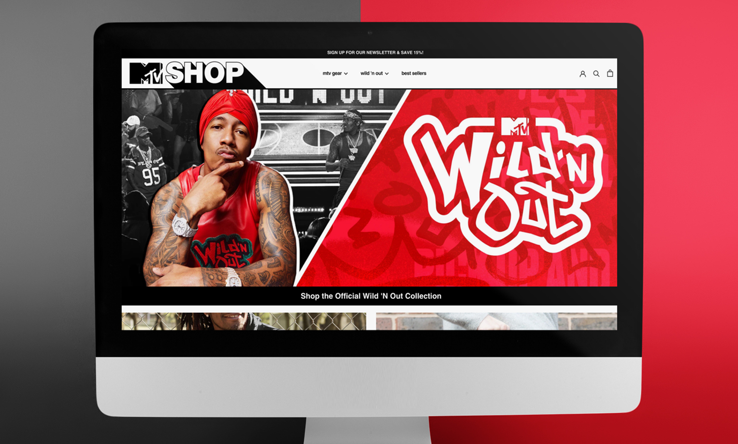 Mtv Shop Debuts With A Wild N Out Collection Nick Cannon Style Snow Commerce