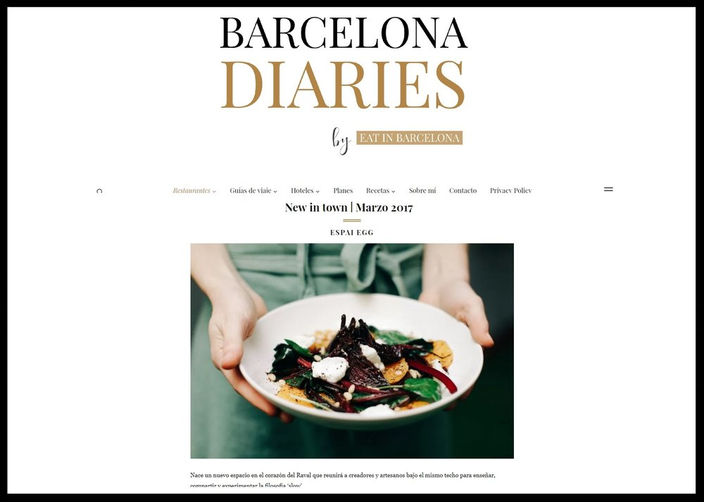 EAT IN BARCELONA -