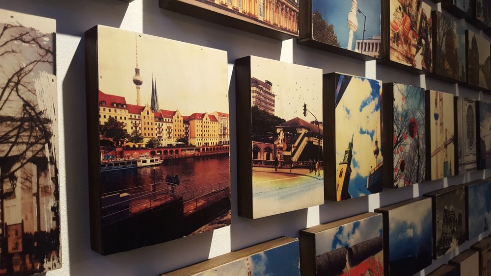 BERLIN COLLECTION - PHOTOGRAPHY ON WOODHandmade by Caro Berliner Art