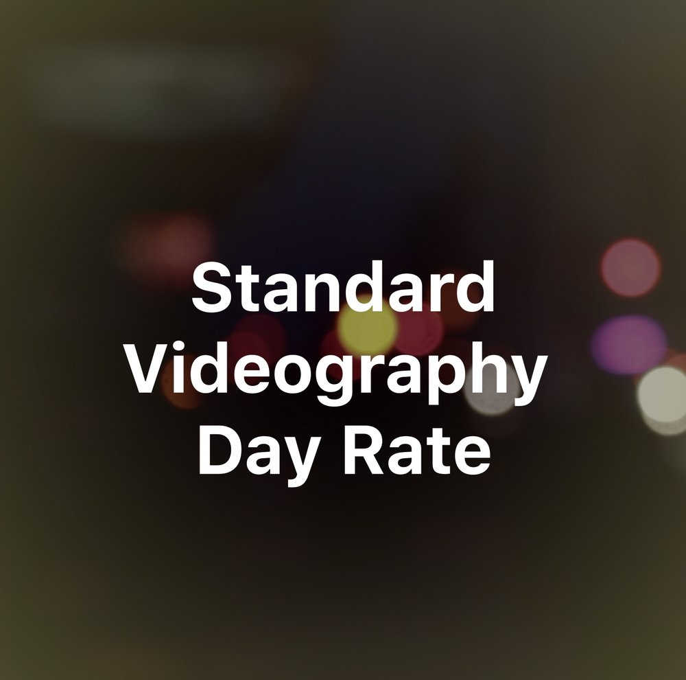 $700 - Up to 10 Hours of on-location video production - Travel up to 40 Miles from Manhattan in the Tri-State Area* Filming only: editing and post-production is not included Includes the use of equipment we currently own or equipment provided by the client.  * Standard mileage rate of $0.54 per mile applies if travel is required beyond a 40 mile radius from Manhattan.