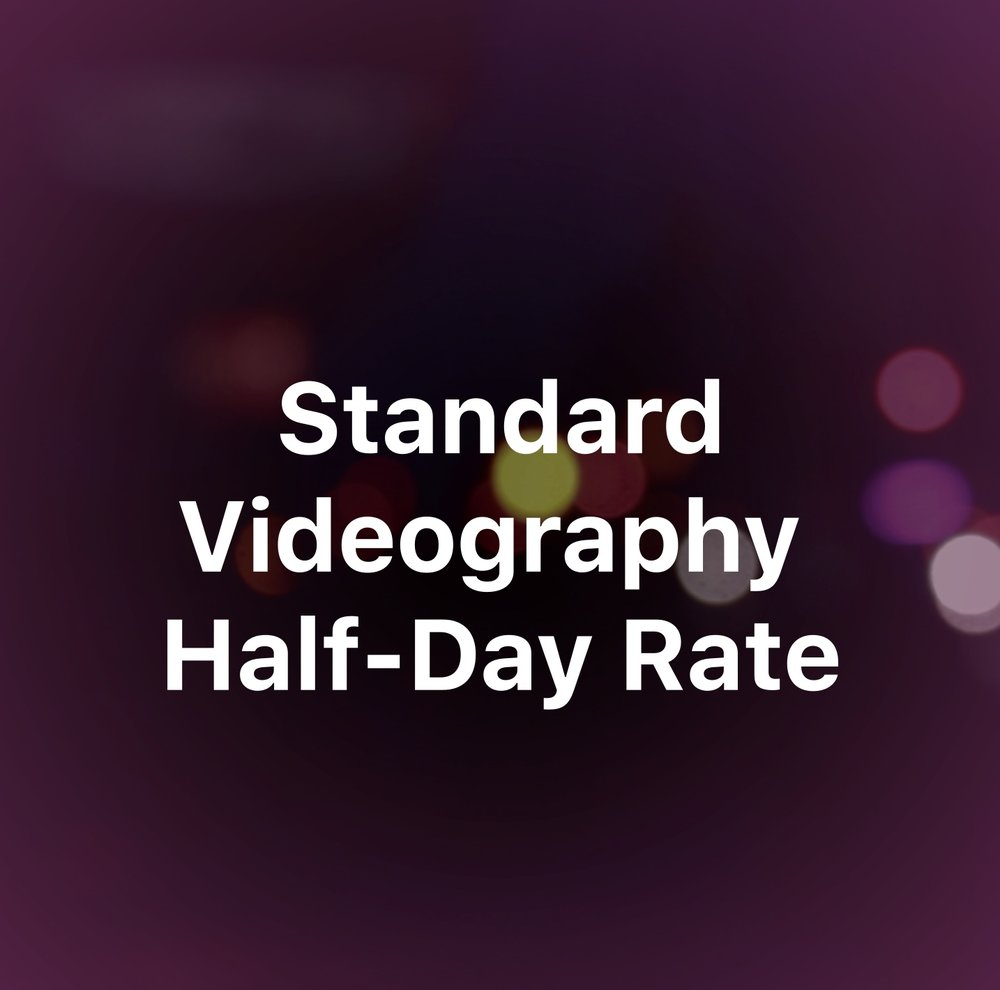 $400 - Up to 5 Hours of on-location video production - Travel up to 40 Miles from Manhattan in the Tri-State Area* Filming only: editing and post-production is not included Includes the use of equipment we currently own or equipment provided by the client.