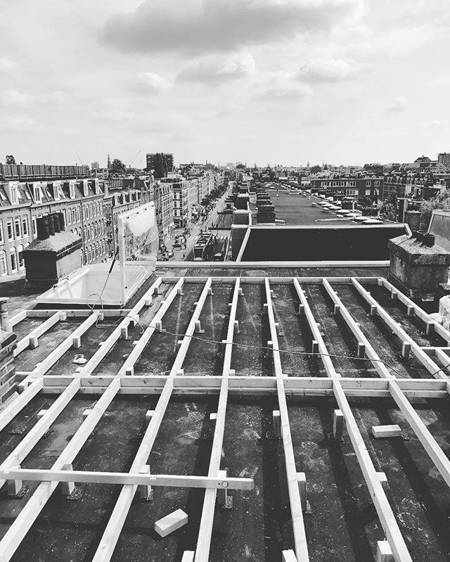 roofterrace #renovatie #architecture #daktuin #dakterras #timmerwerk #bouwmeestersamsterdam #bouwen