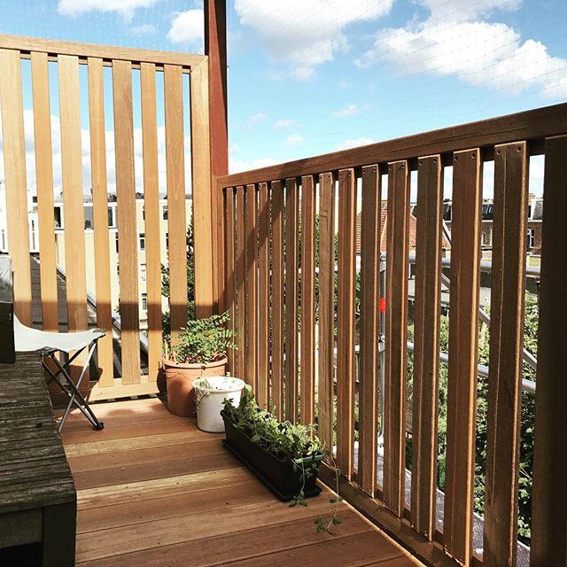 Creating new outdoor spaces #balkon #bouw #terras #hardhout #hekwerken #amsterdam #bouwmeestersamsterdam