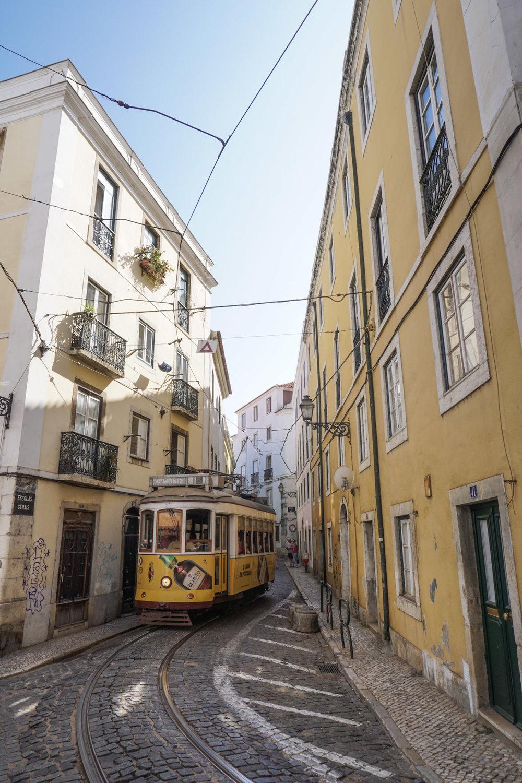 curio.trips.portugal.lisbon.yellow.tram.corner.jpg
