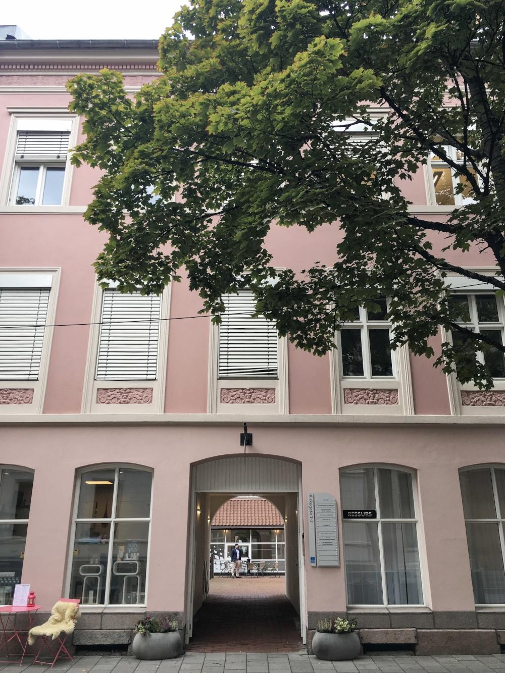 curio.trips.norway.oslo.pink.building.jpg