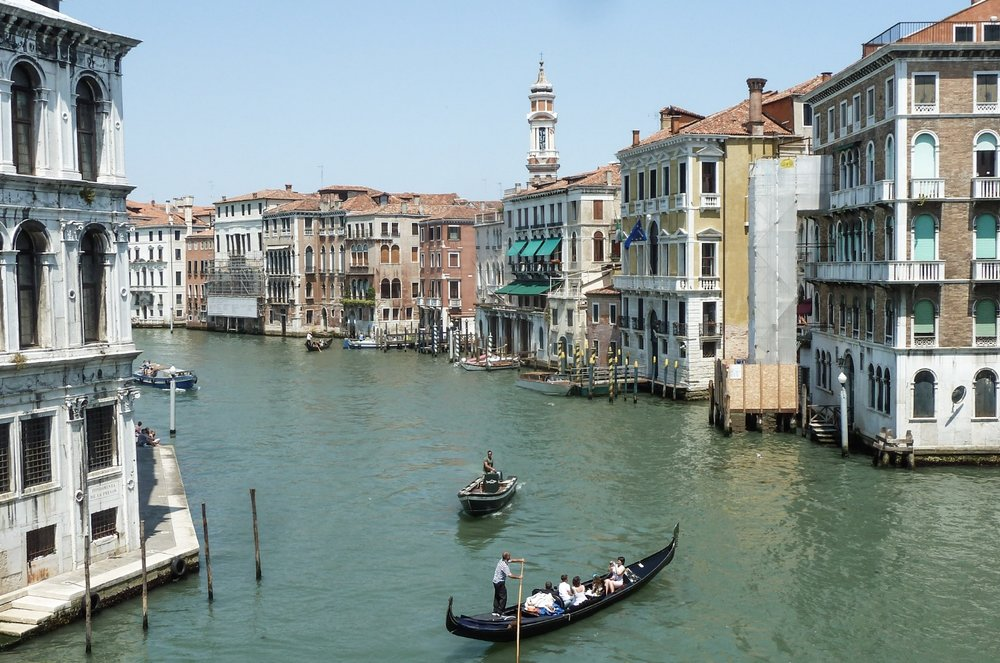 TAKE A GONDOLA RIDE IN VENICE