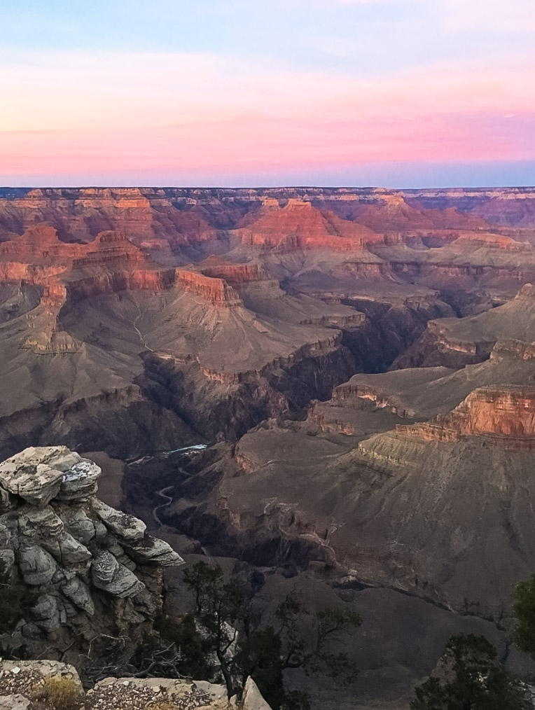 BE IN AWE OF THE GRAND CANYON