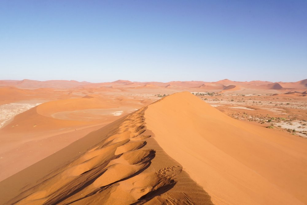 RIDE THE RED DUNES OF NAMIBIA