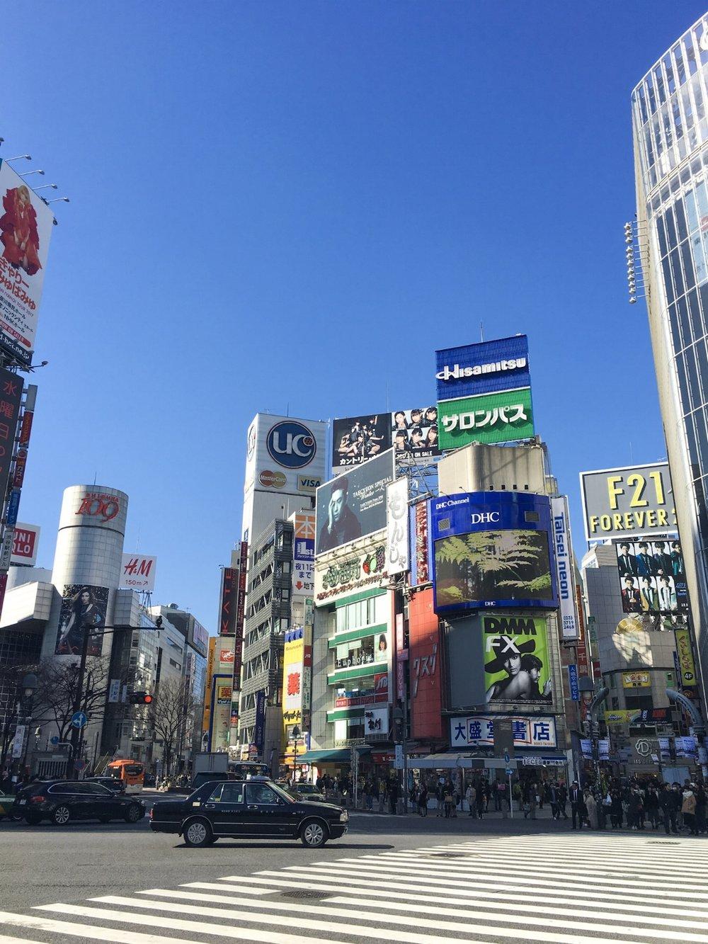 TAKE IT ALL IN THE METROPOLIS OF TOKYO