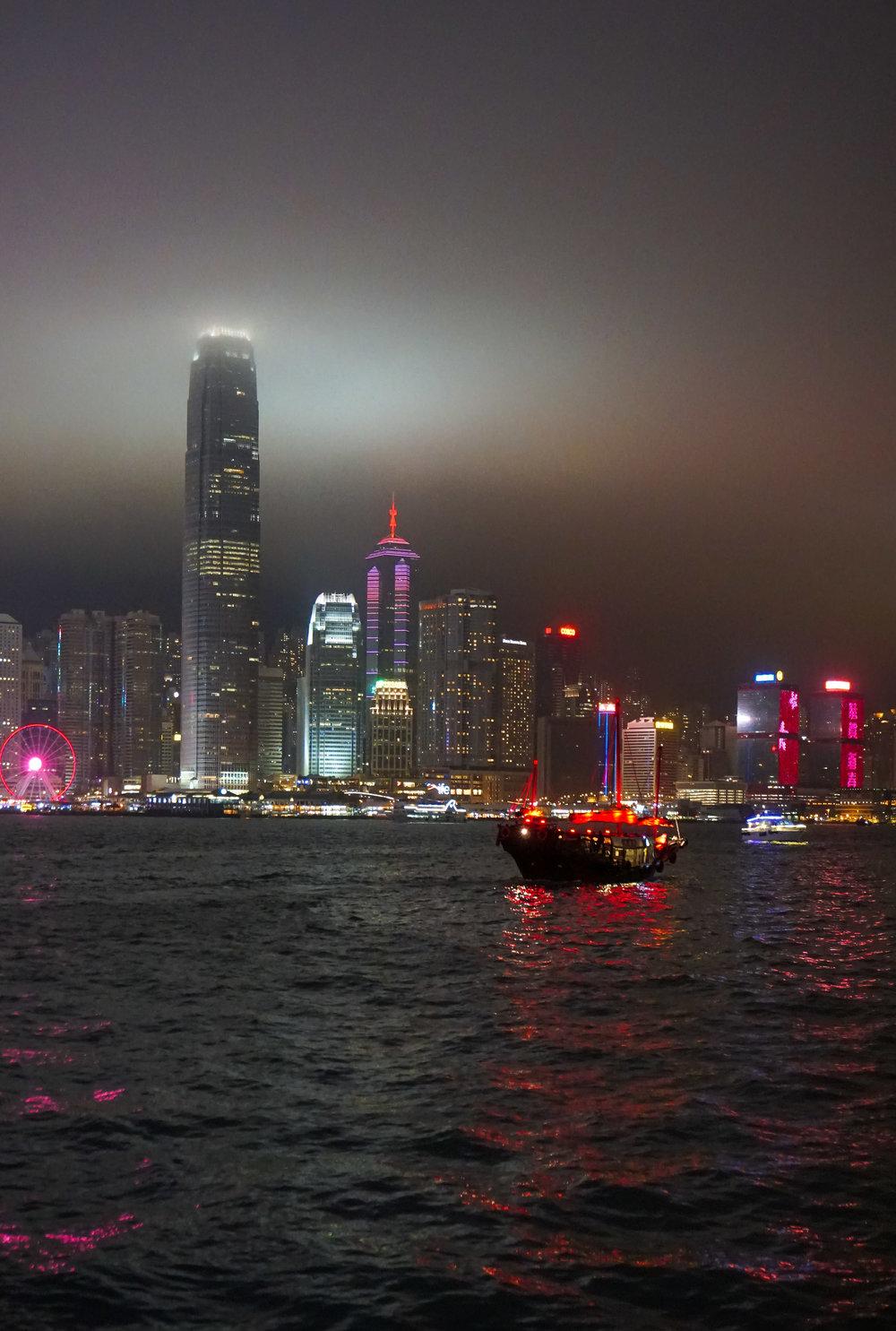 curio.trips.hong.kong.night.waterfront.junk.boat.portrait.jpg