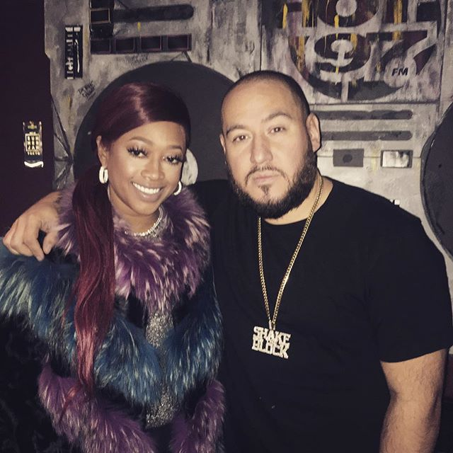 The homie Trina pulled up today... #Hot97 #shaketheblock #305