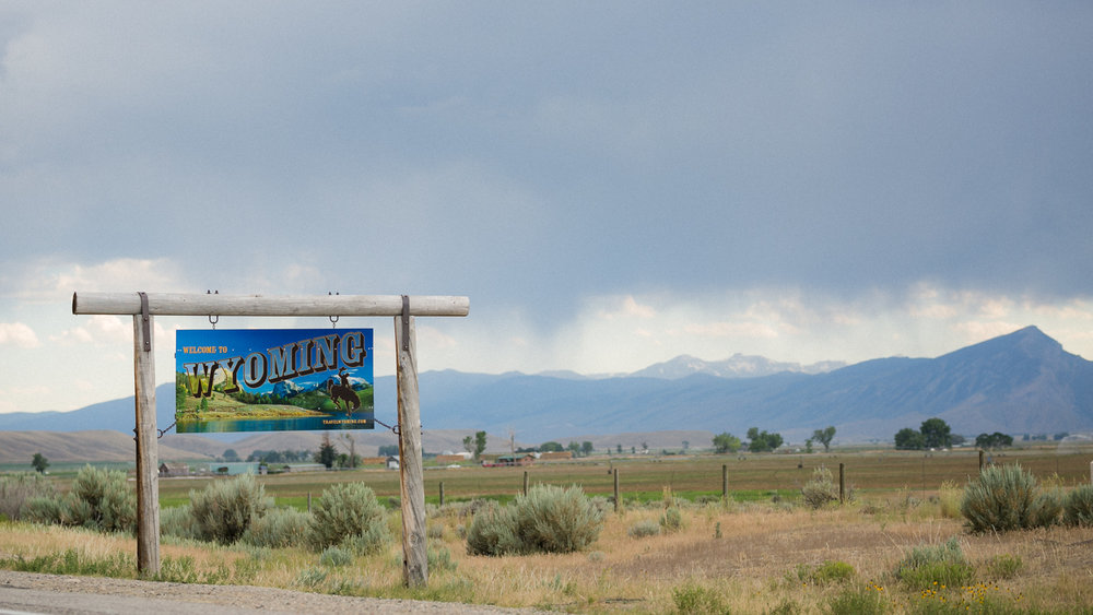 Welcome to Wyoming, I have always loved the drive down to Cody from Billings, I think it's just beautiful!