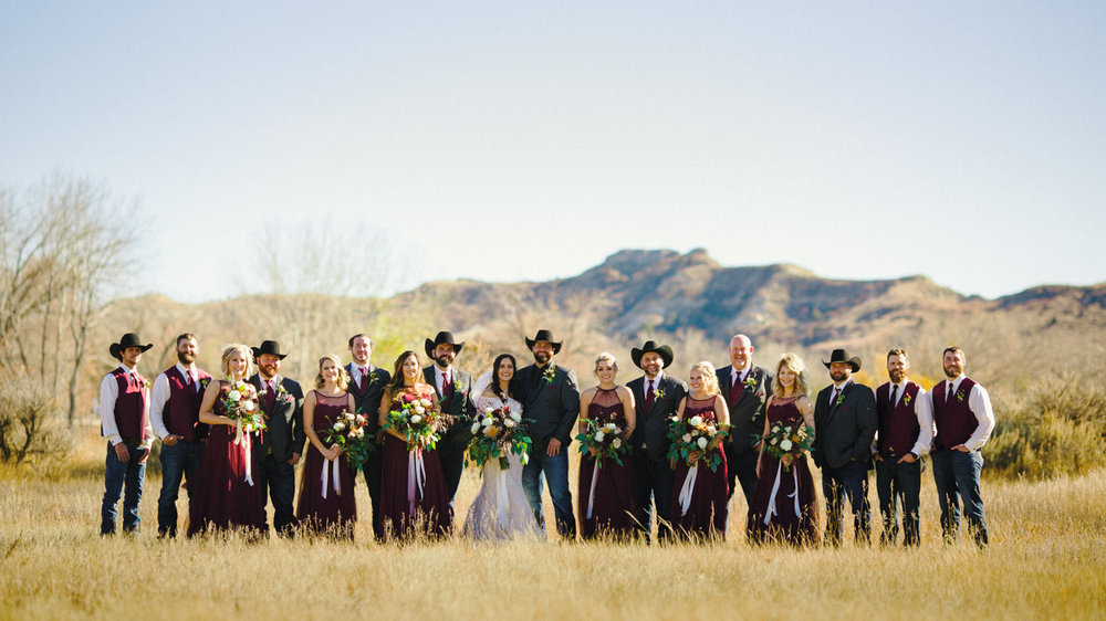 Badlands Bridal Party