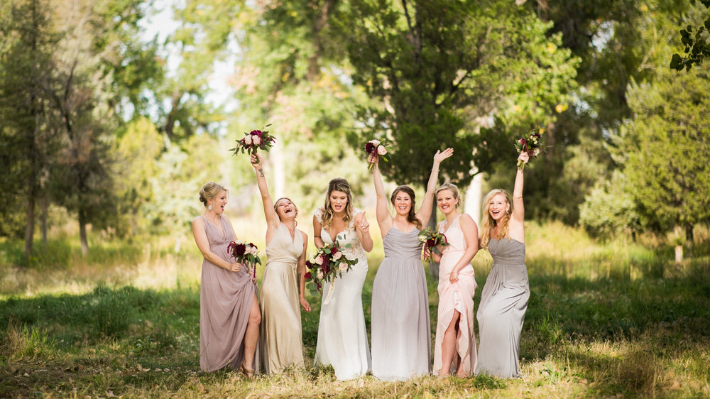 Billings wedding party