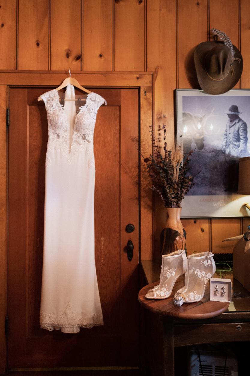 Wyoming Wedding Dress in Cody