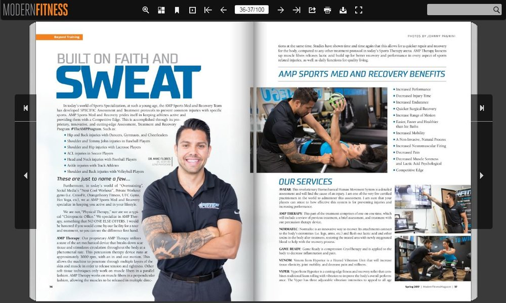 Modern Fitness Magazine
