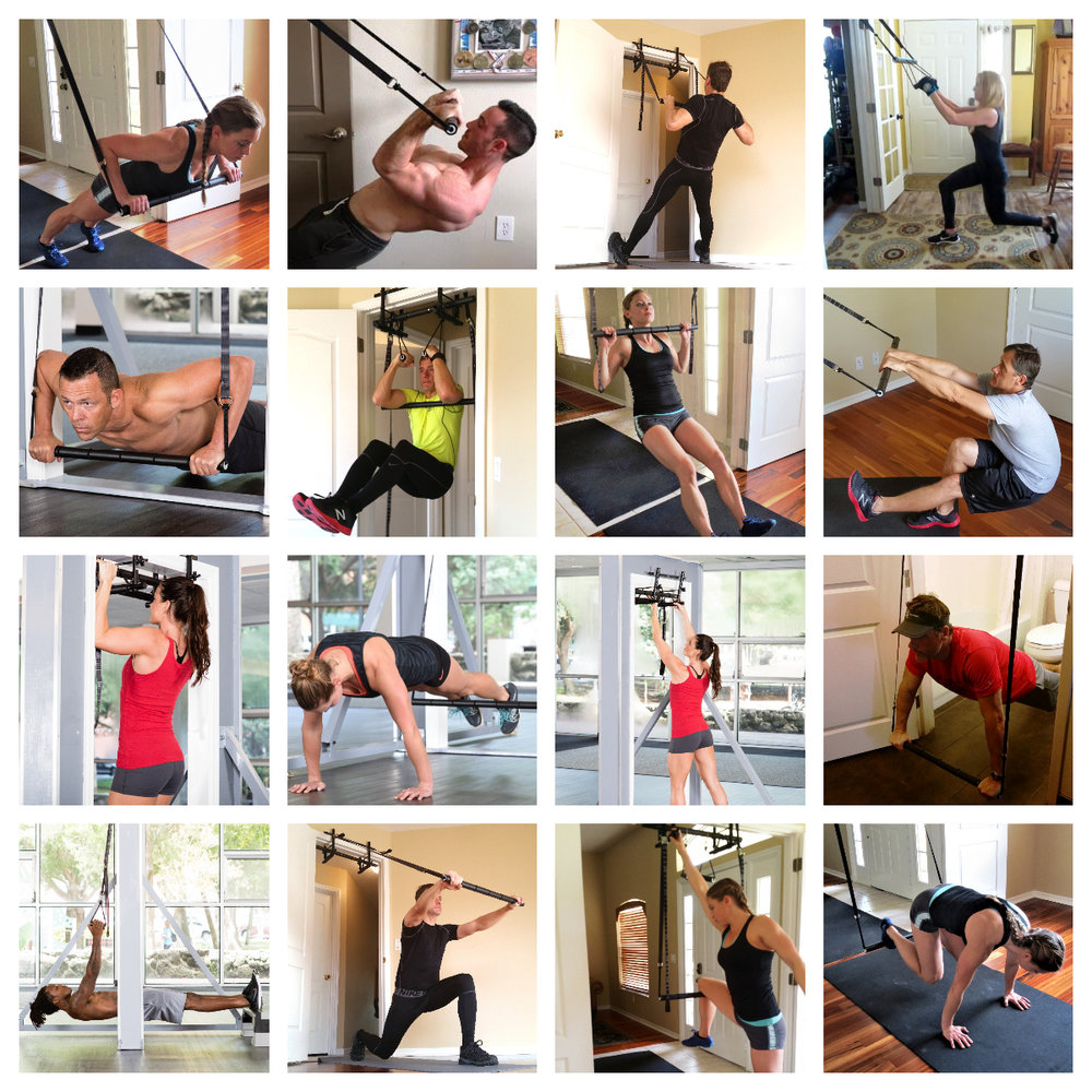There are dozens of exercises that can be executed with the FitBar Trainer