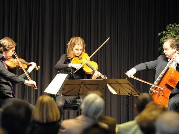 Konzert der Villa Musica inm Foyer der Remagener Rheinhalle. Foto:Martin Gausmann