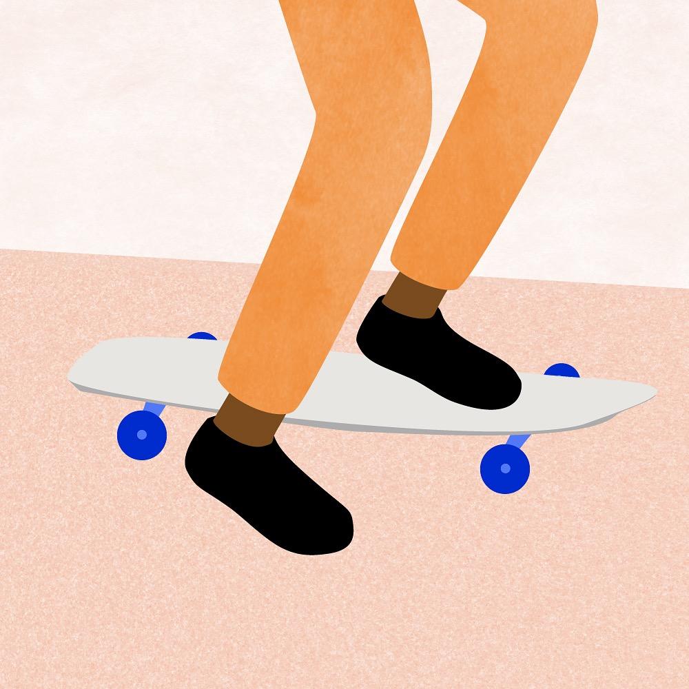 Everyone skates