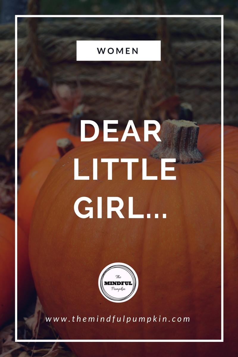 Dear little girl...