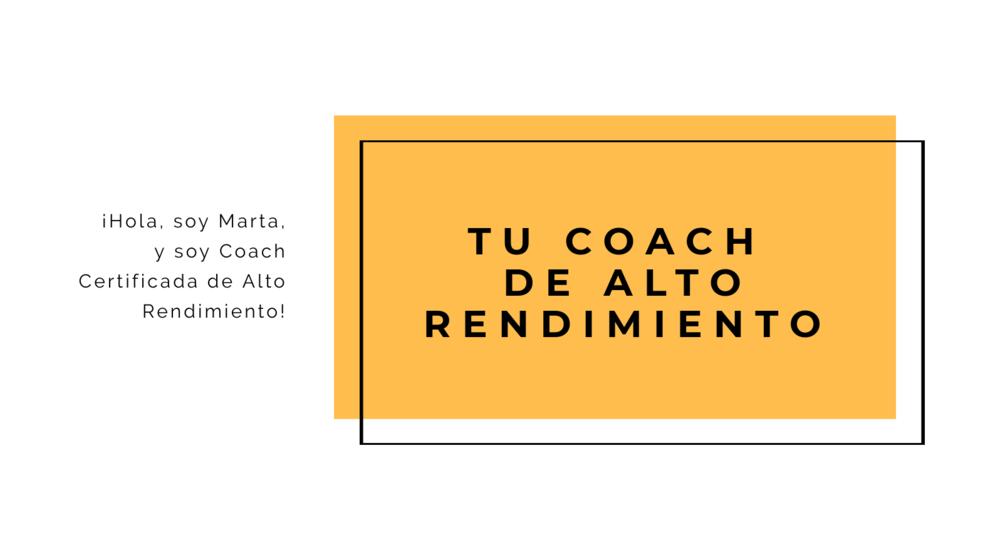 Tu Coach Marta Ribao Gil