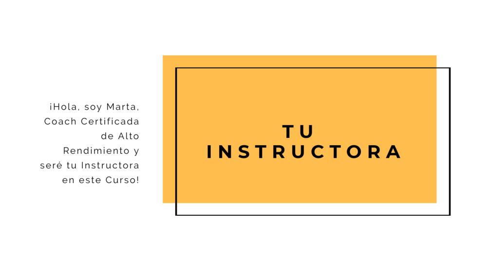 Tu Instructora