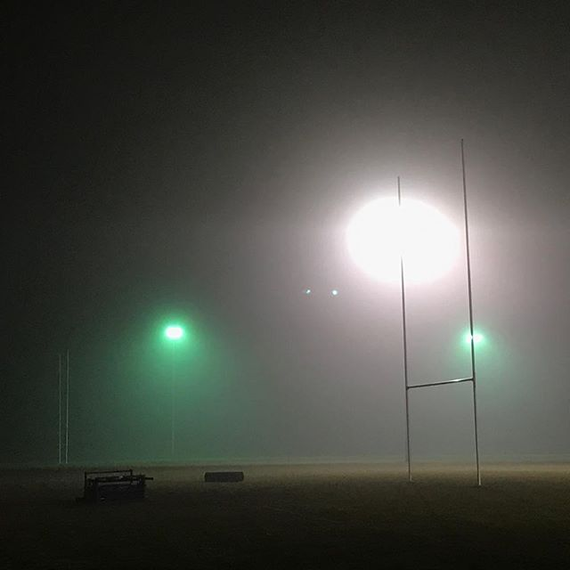 Some sort of rugby related alien abduction attempt! #cold