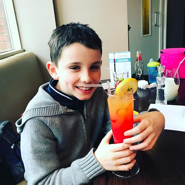 Cole's on the Mocktails, hangover tomorrow!