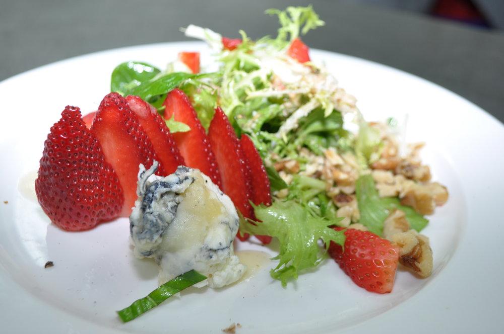 Frisee, Humboltd Fog, & Walnut Salad
