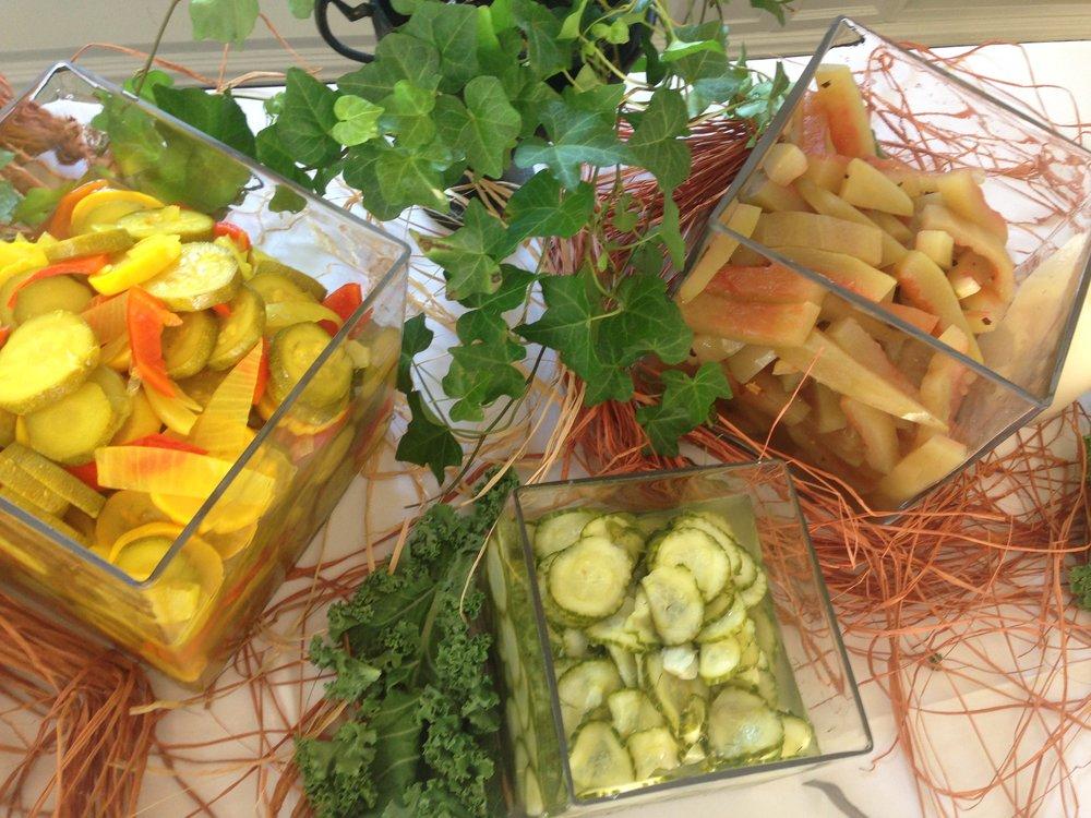 House Pickles: Watermelon, Squash, Cucumber