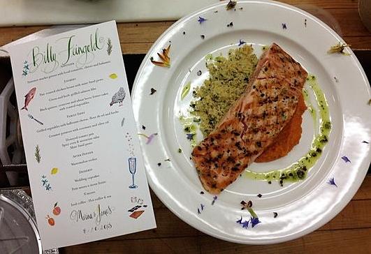 James' & Marna's Wedding Dinner (working)