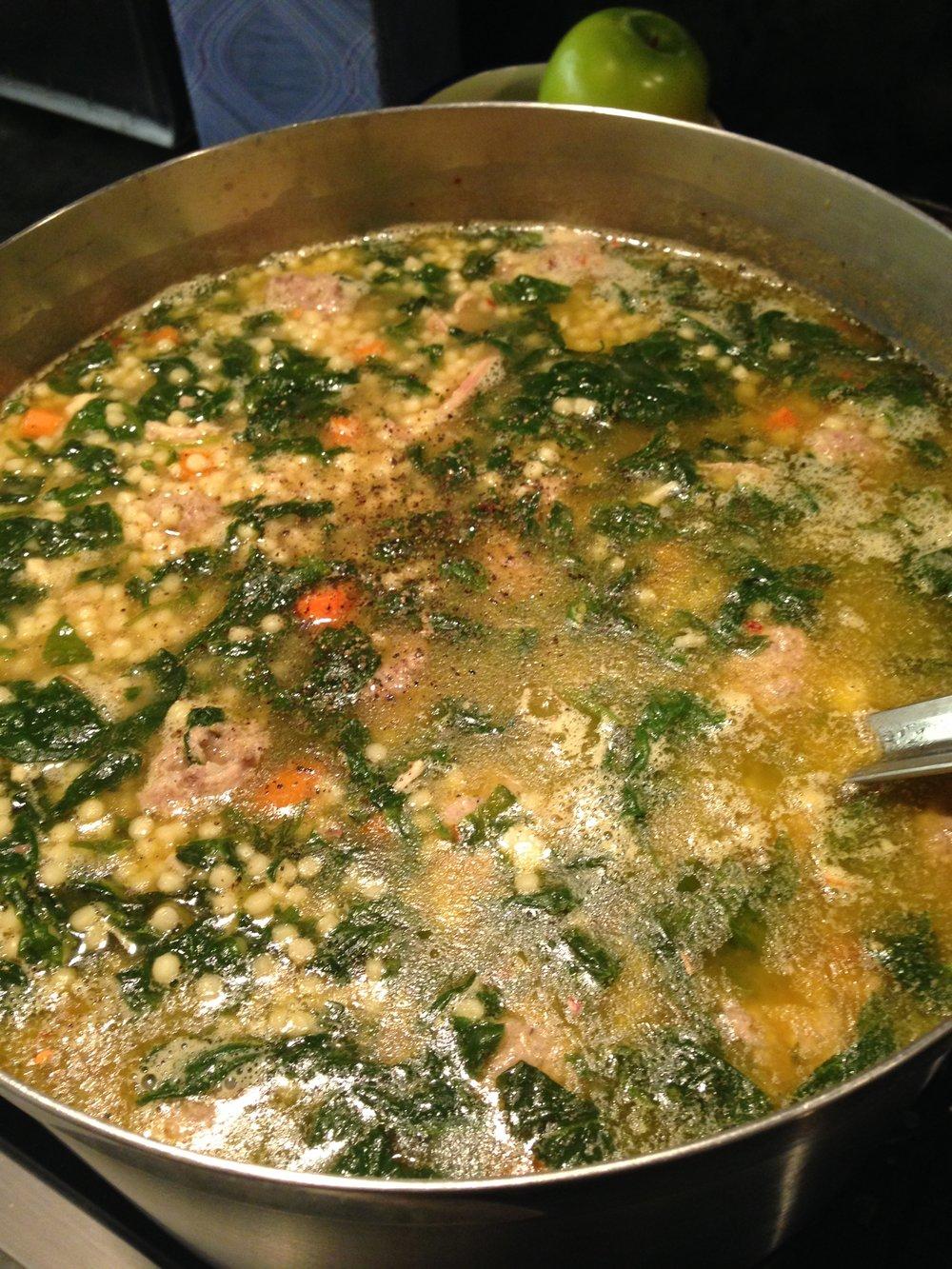 Chris' Italian Wedding Soup