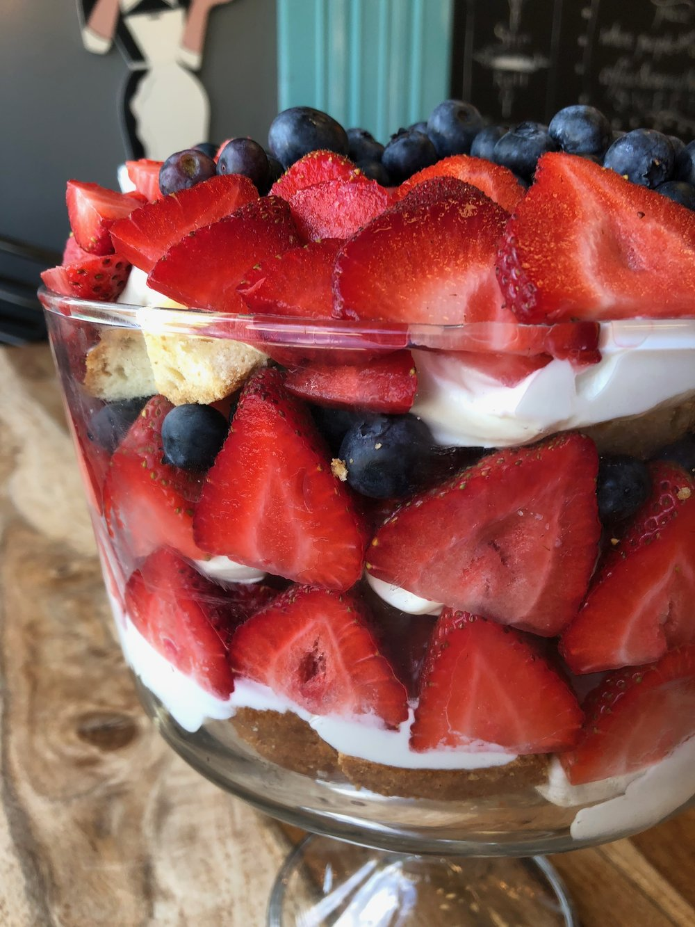 No-Bake Trifle Dessert