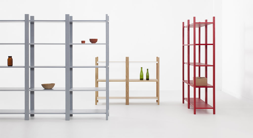 Perimeter shelving system by LeviSarha