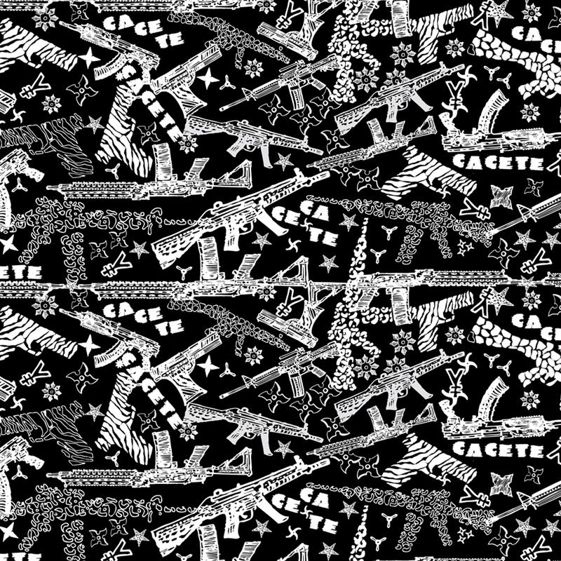 estampa  armas animal print  para  Cacete