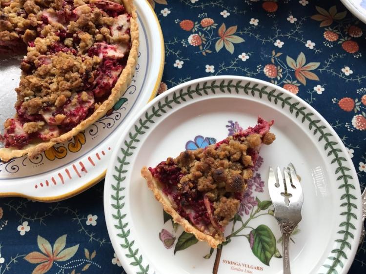 Cranberry, Ginger & Pear Tart — Cucina Casa M
