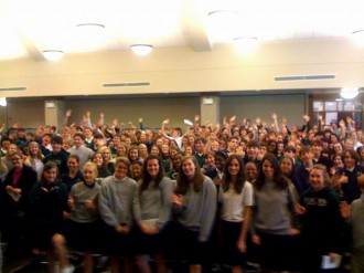 This Shot from the Stage at Episcopal Collegiate School